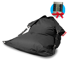 Fatboy Buggle-up Outdoor charcoal + Meteostanice zdarma