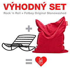 Výhodný set Fatboy Rock 'n Roll + Fatboy Original Stonewashed